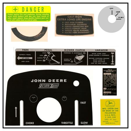 Tractor Decal Kit 16