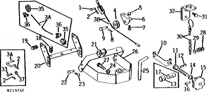 Wiring Harness For 1966 John Deere 110